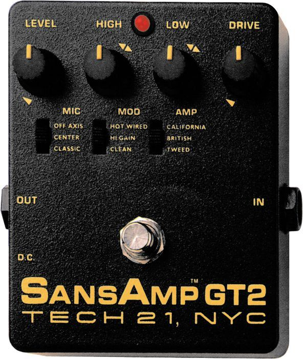 sansamp gt2 tube amp emulator amps pedals and pedal boards guitar effects pedals distortion. Black Bedroom Furniture Sets. Home Design Ideas