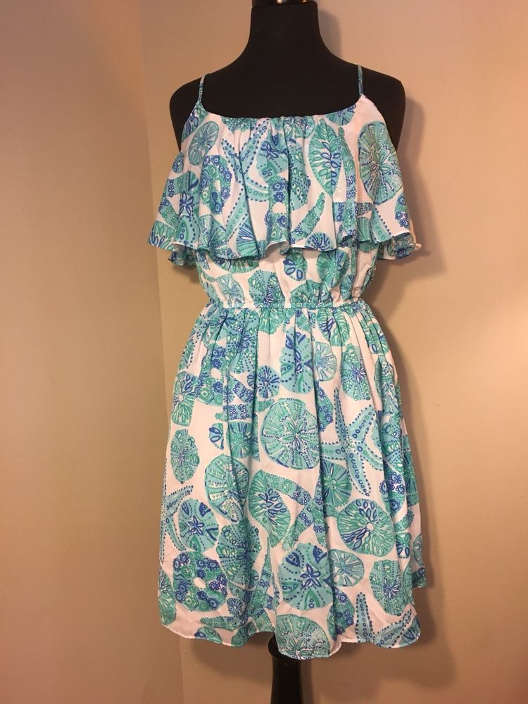 8e2a0426b01 Lilly Pulitzer For Target - Flounce Dress Blue Sea Urchin New W O Tags Size  M  fashion  clothing  shoes  accessories  womensclothing  dresses (ebay  link)