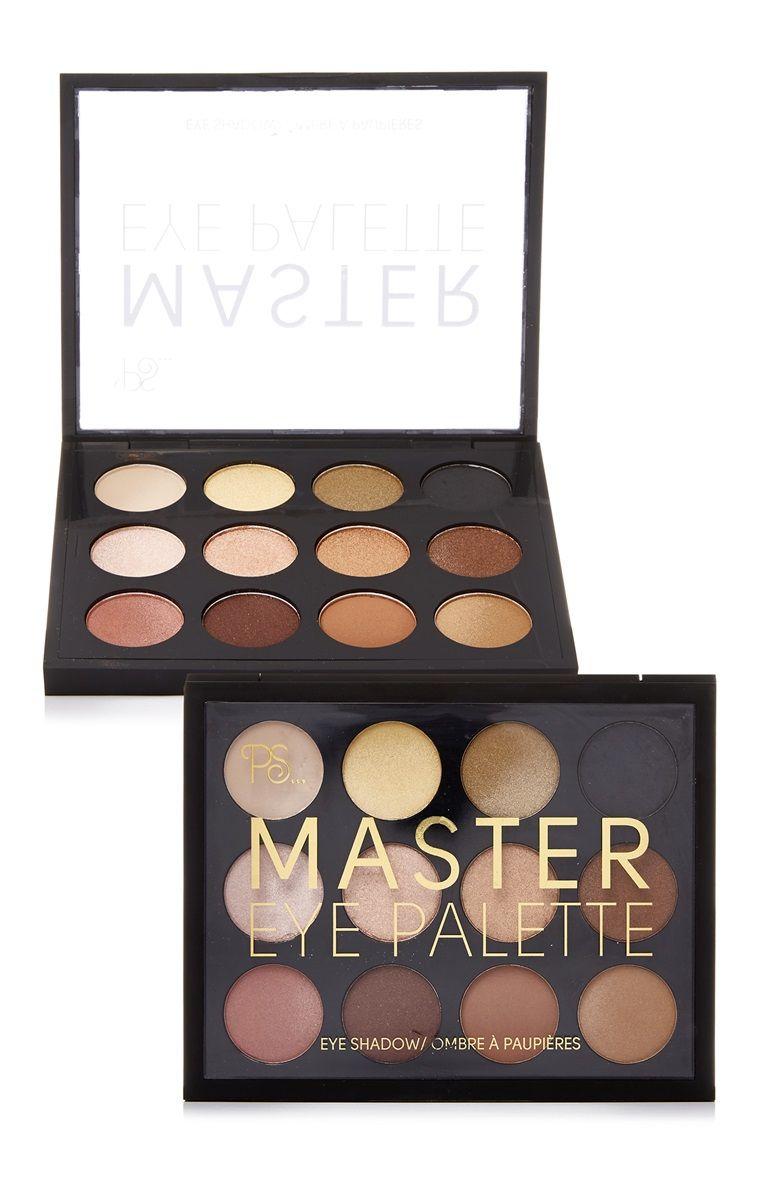 Paleta De Sombras De Ojos Master De Ps Produtos De Maquiagem Maquiagem Flat Lay Maquilhagem