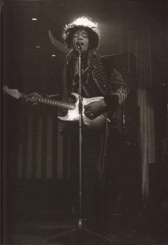Jimi Hendrix ~ With THE Glow