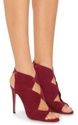 3bd73ad9877 Pasadena Diamond Cutout Heels by AQUAZZURA Now Available on Moda Operandi