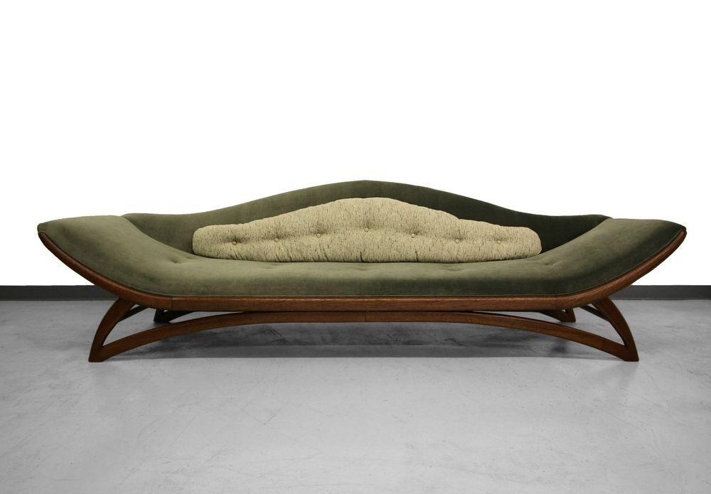 9ft Mid Century Gondola Sofa By Carsons Furniture Adrian