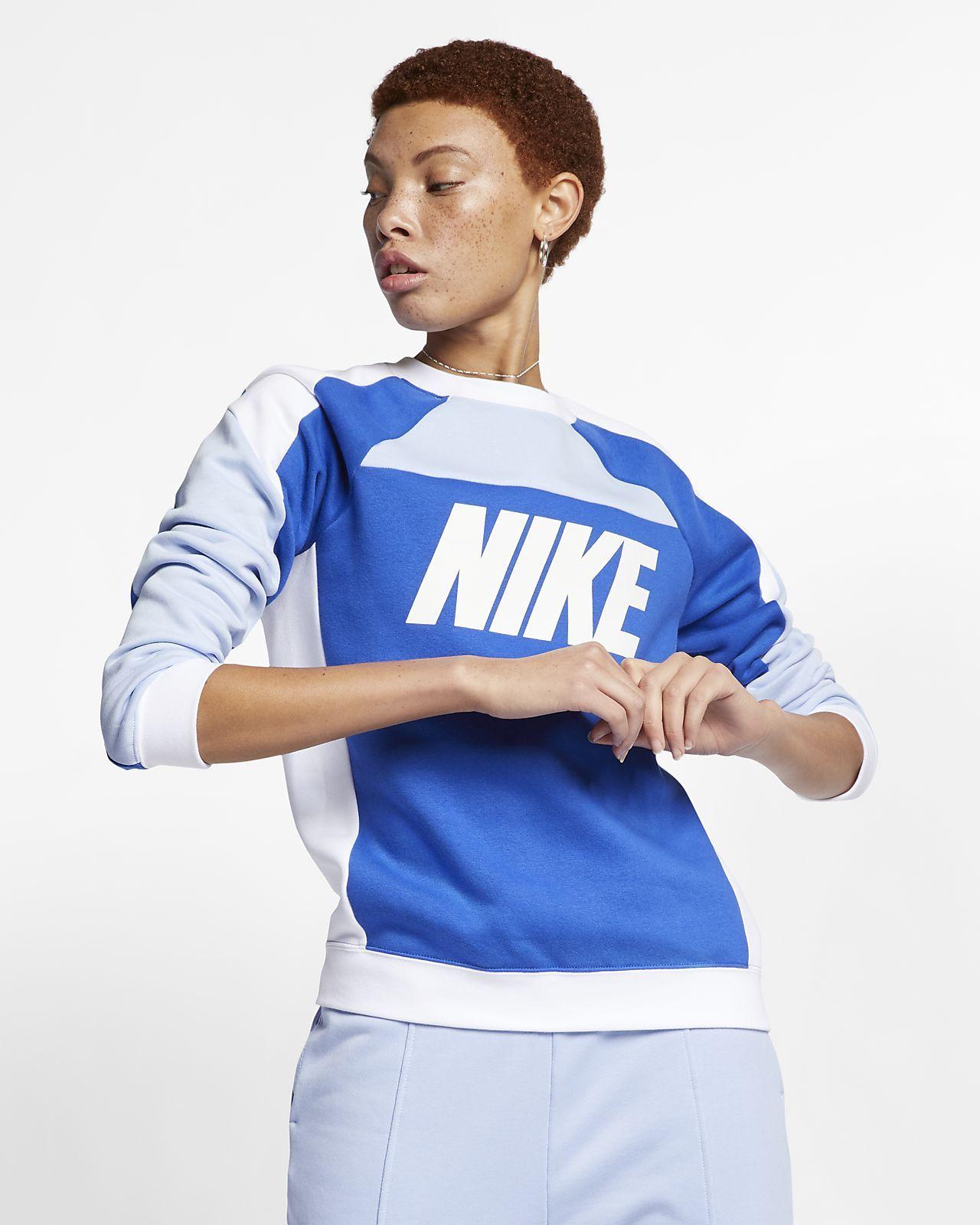 Nike Sportswear Women's Colour Block Fleece Sweatshirt