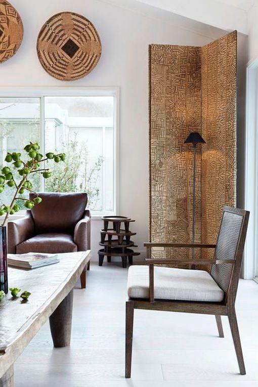Decoraci n de estilo tnico casa australiana con pieza del pac fico sur estilo tnico - Estilo etnico decoracion ...