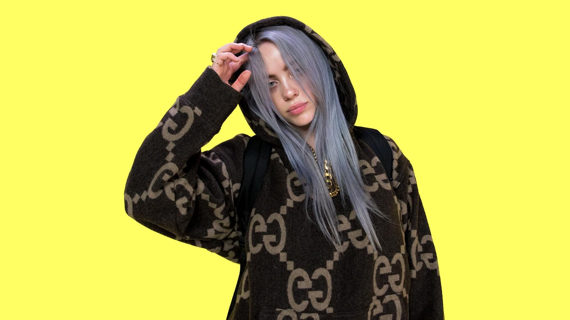 Fresh Billie Eilish Hd Yellow Background Wallpapers Billie Eilish Billie Yellow Aesthetic