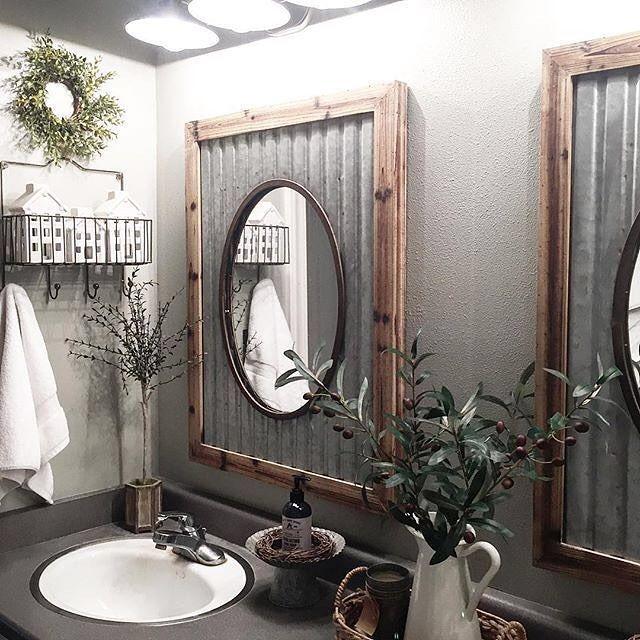 Bathroom Mirror Freestanding