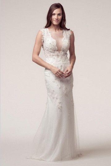 KCW1564 Destination Sheer Lace Wedding Dress by Kari Chang Eternal