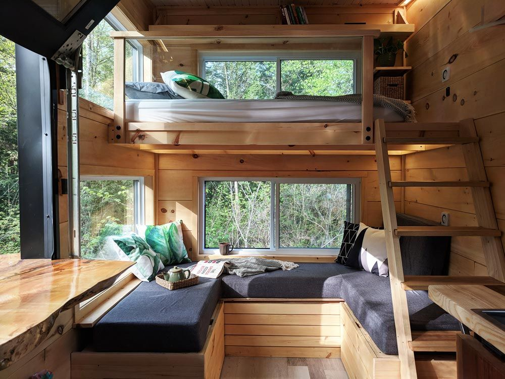 tilt out windows aluminium living area joni by cabinscape maybe we could request sideways windows really prefer tilt out windows though home house cabin area