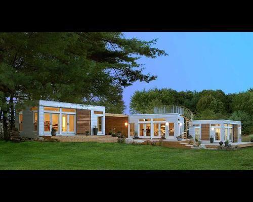 7 Affordable Green Starter Homes Moderne Fertighauser Modulare