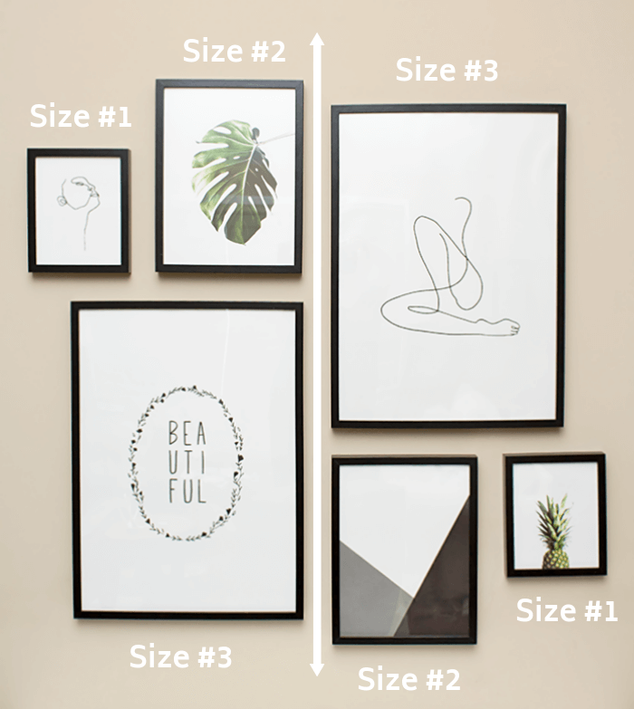 The Modern Minimalist Gallery Wall Guide for Begin