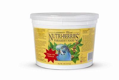 BIRD - TREATS - PARAKEET NUTRI BERRIES 4 LB - - LAFEBER COMPANY - UPC: 41054816322 - DEPT: BIRD PRODUCTS
