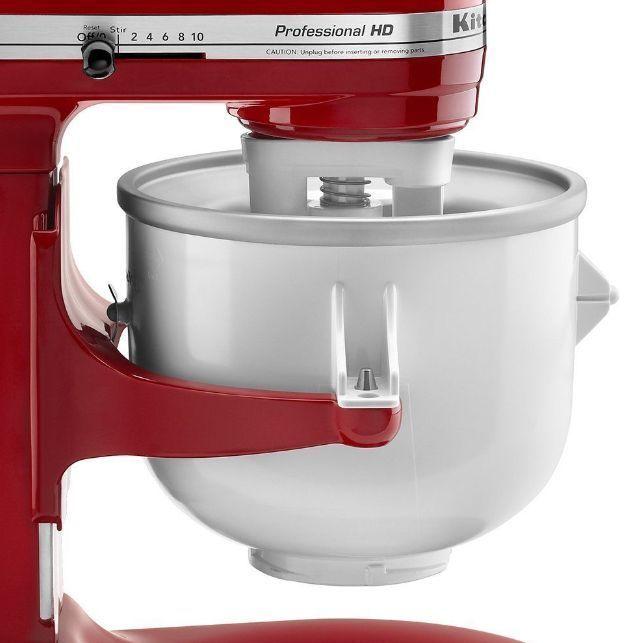 Kitchenaid 2 Qt Ice Cream Maker Stand Mixer Attachment