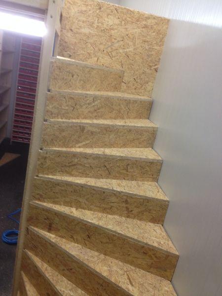 Stiegenaufgang selbst Gebaut Treppe selber bauen