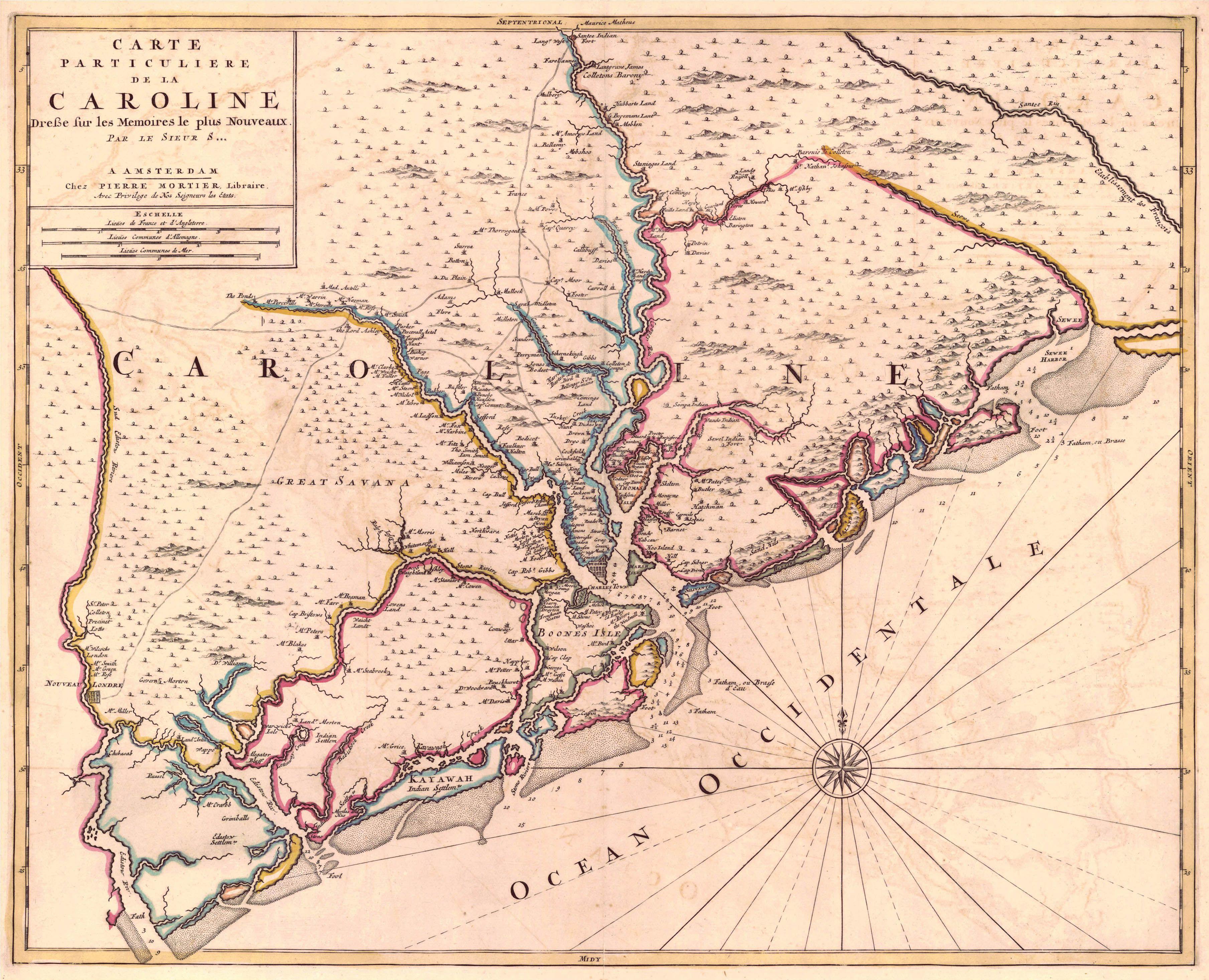 caroline south carolina in  old charleston maps. caroline south carolina in  old charleston maps  charleston