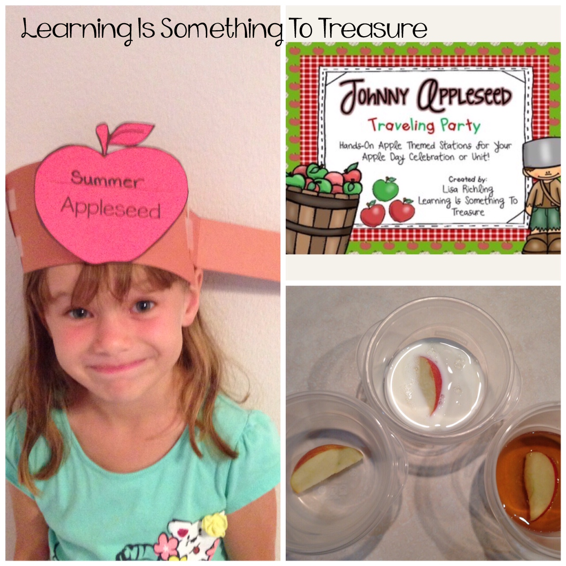 Johnny Appleseed Traveling Party Apple Day Stations