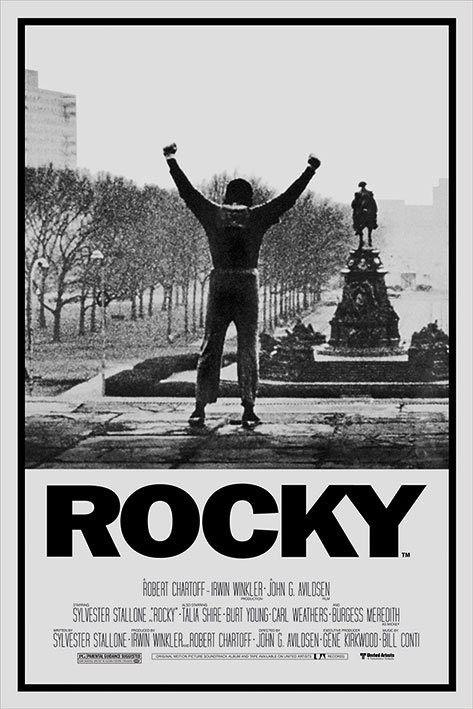 Plakat Obraz Rocky 1 Kup Na Posters Pl Mejores Carteles De Peliculas Carteleras De Cine Poster De Cine