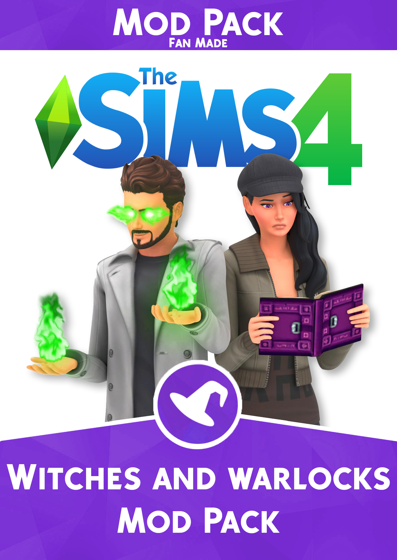 The Sims 4 Witches and Warlocks ModPack Sims 4 expansions Sims