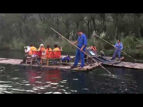 Nanxi River bamboo rafting--part 2