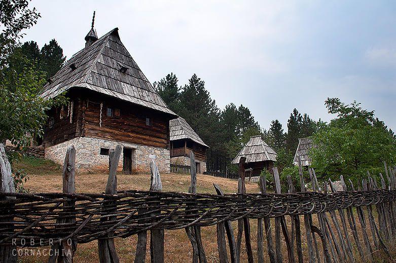 Villaggio tradizionale di Sirogojno, Serbia