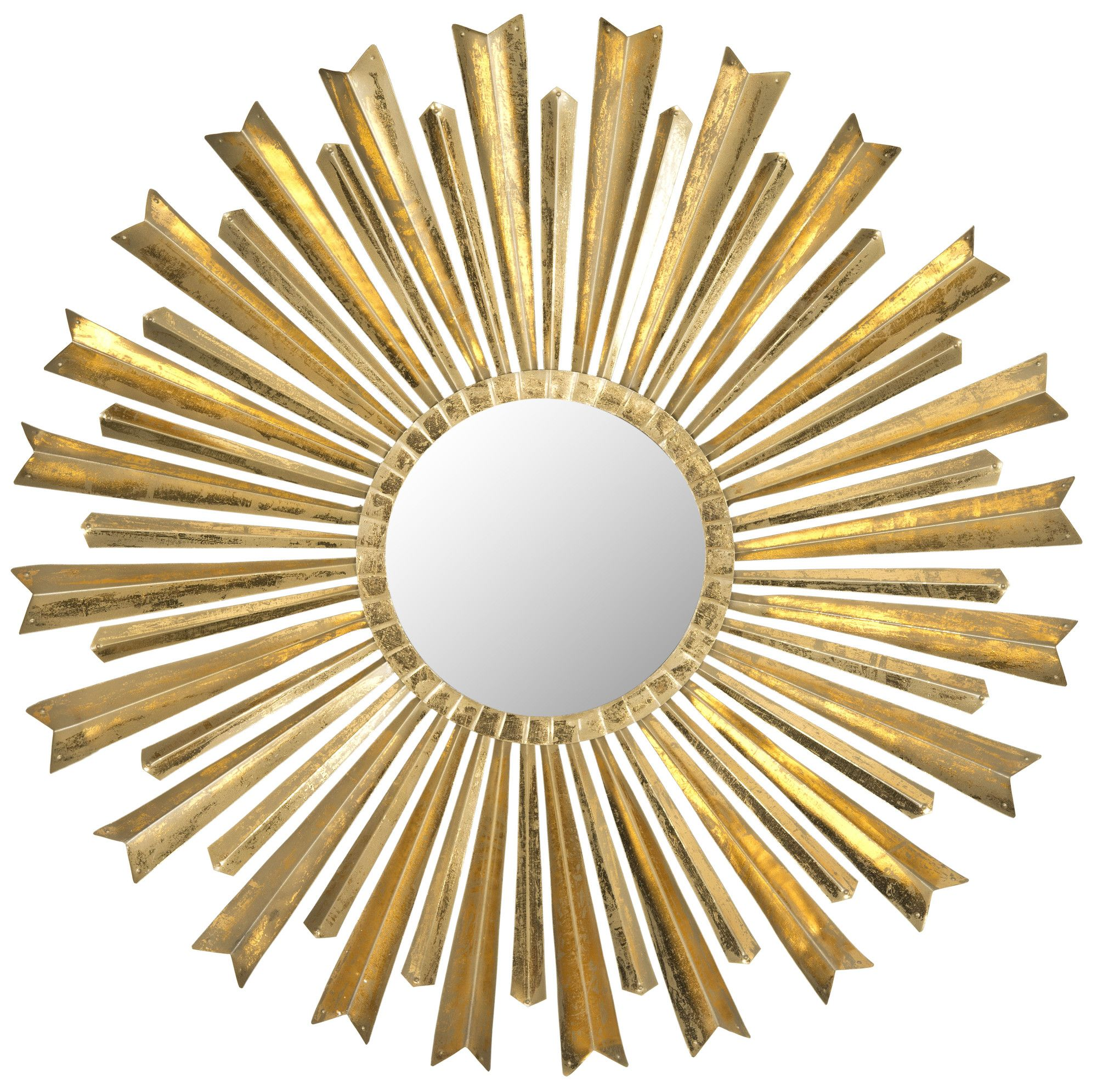 Safavieh Golden Arrows Sunburst Mirror & Reviews | Wayfair ...