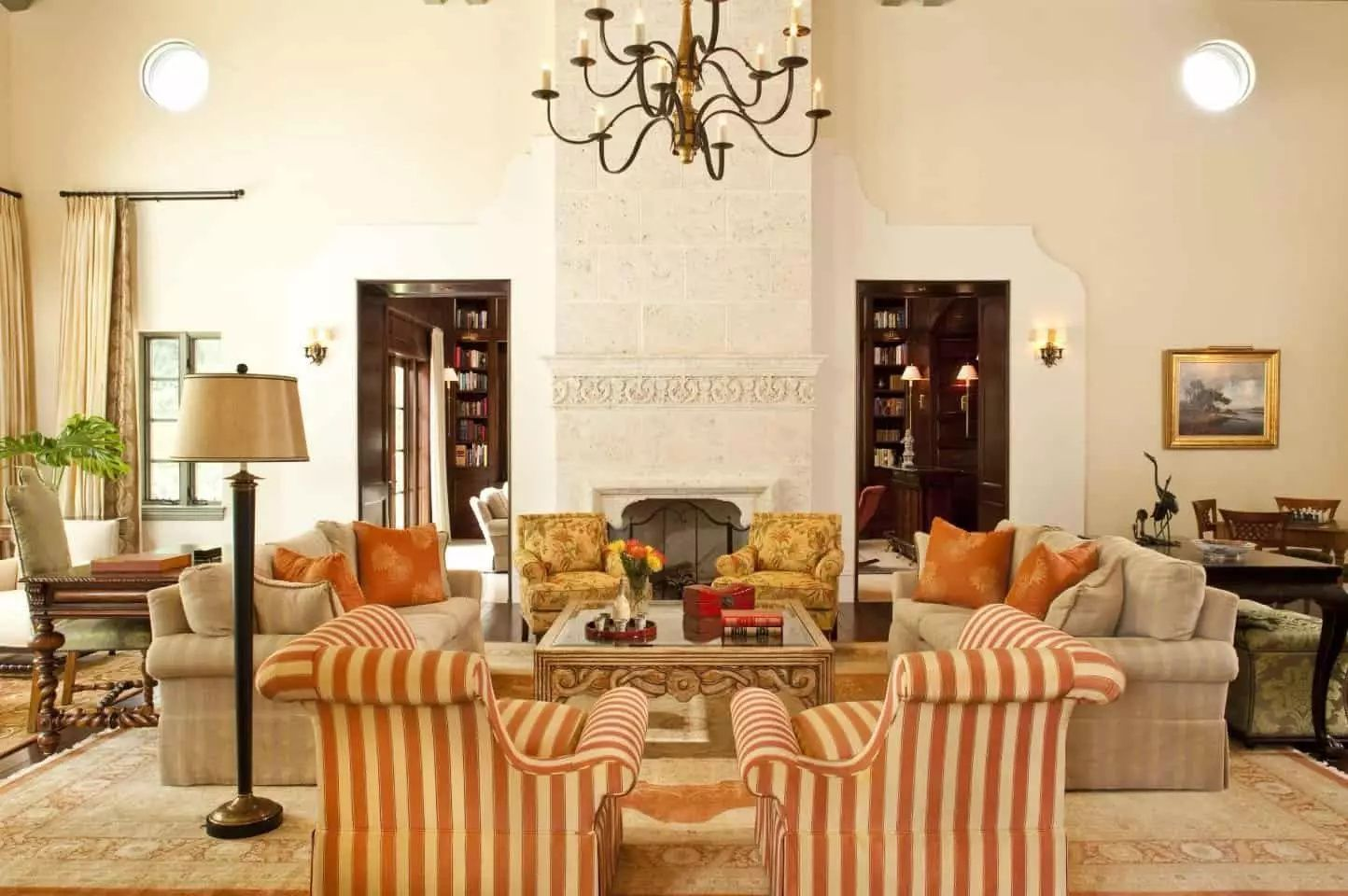 50 Spanish Style Living Room Ideas Photos In 2020 Spanish Living Room Home Decor Leather Living Room Furniture #spanish #style #living #room #furniture