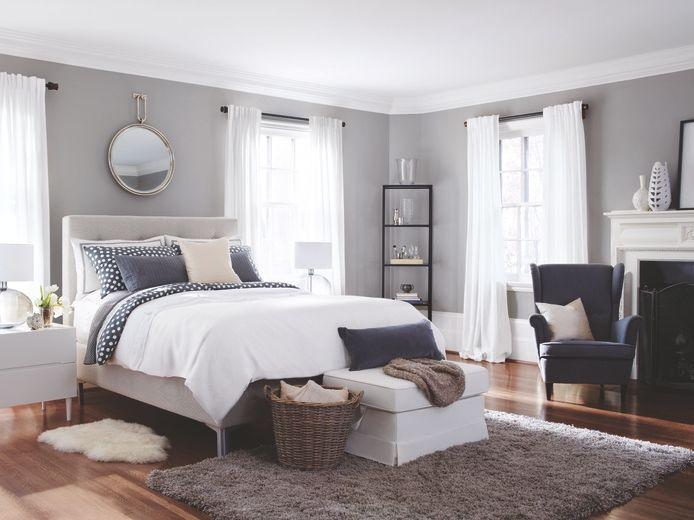 Couleur de peinture pour chambre tendance en 18 photos ! Bedrooms - couleur chaude pour une chambre