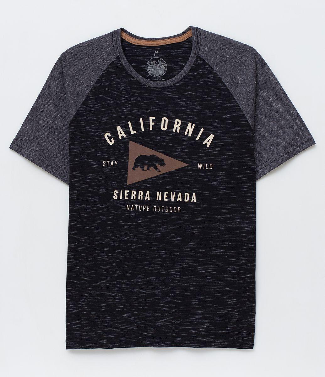 dffcff7da25 Camiseta Raglan com Estampa - Renner