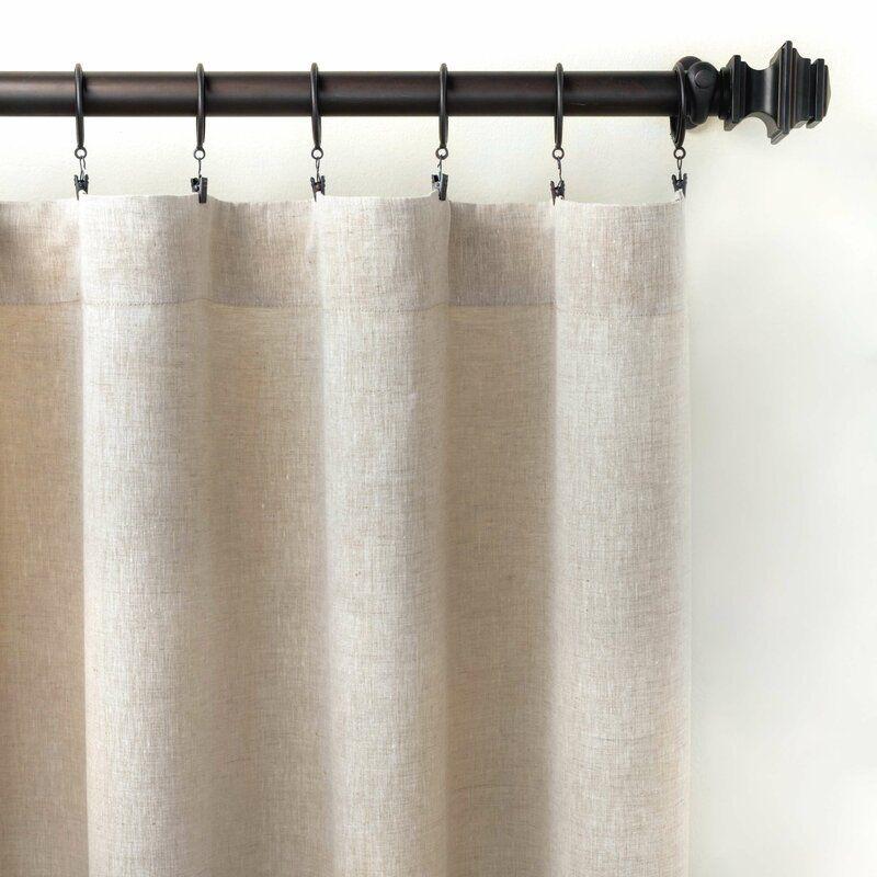Restoration Hardware Curtain Rings