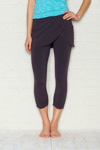 6e94931752fc70 skirted yoga pants from lucy - I have a similiar pair, but longer and with
