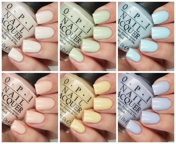 OPI Spring 2016 Soft Shades Collection |