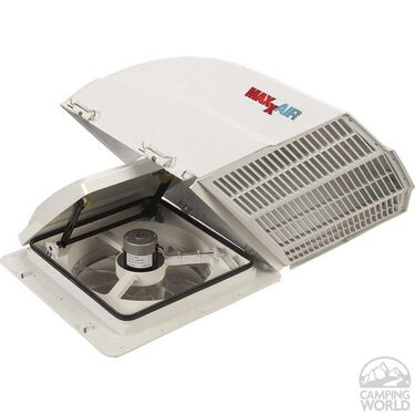Maxxair Fanmate Ezclip Vent Cover White In 2020 Vent Covers Roof Vent Covers Roof Vents