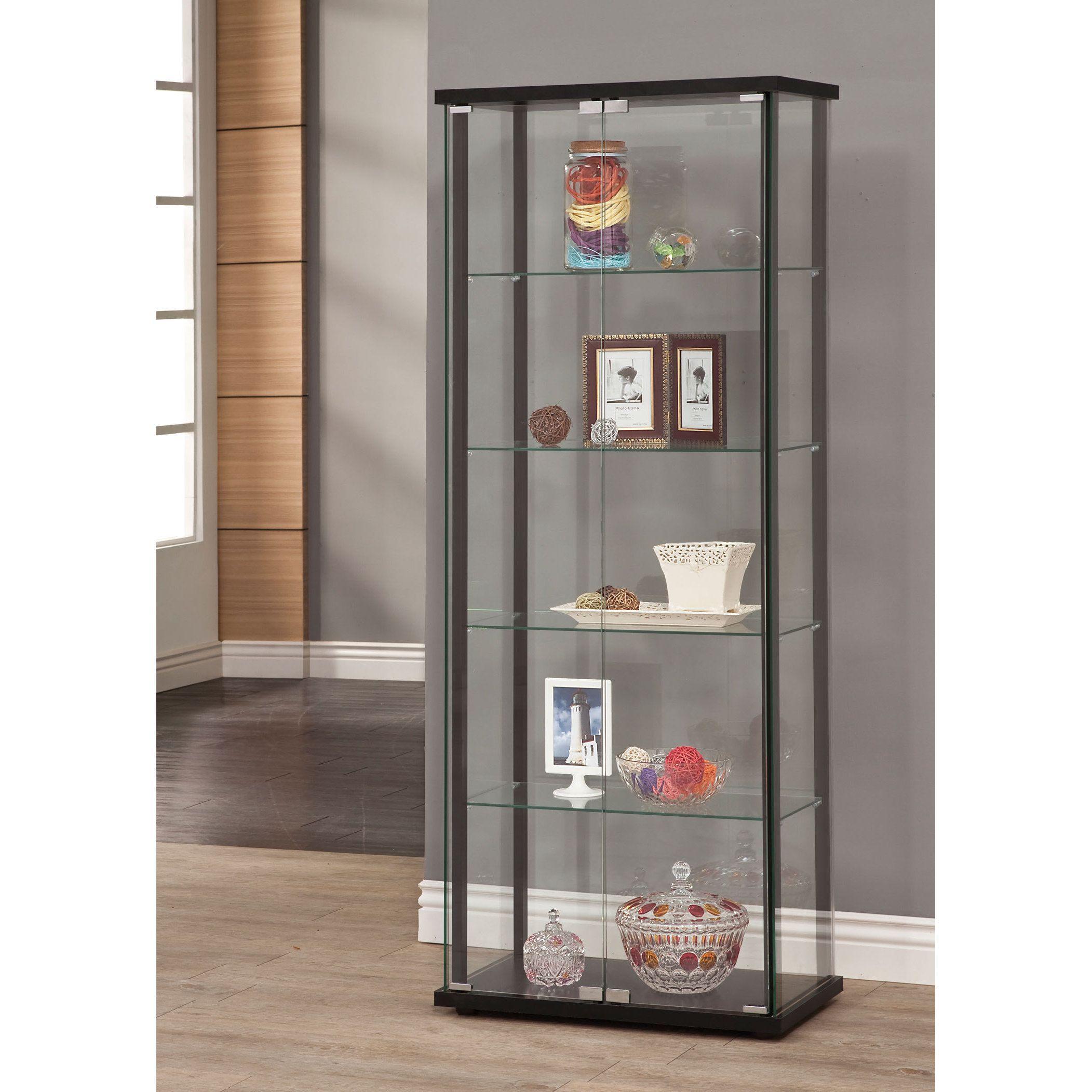 Coaster Company Glass Curio Cabinet (