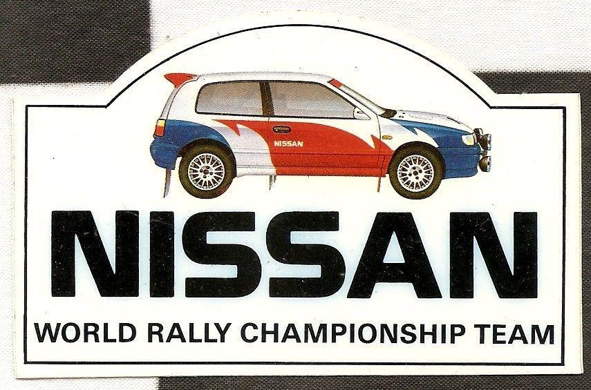 Original Nissan World Rally Championship Team Sunny Pulsar Gti R
