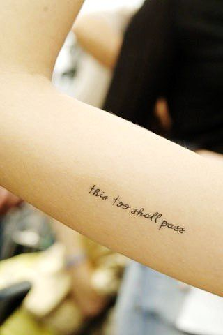 Short Tattoo Quotes short quote tattoo for girls | My private Club. | Pinterest  Short Tattoo Quotes