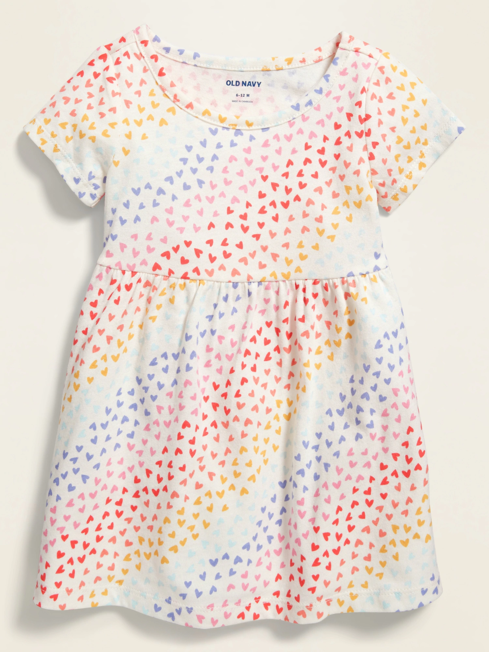 Empire-Waist Jersey Dress for Baby /& Toddler Girls Old Navy
