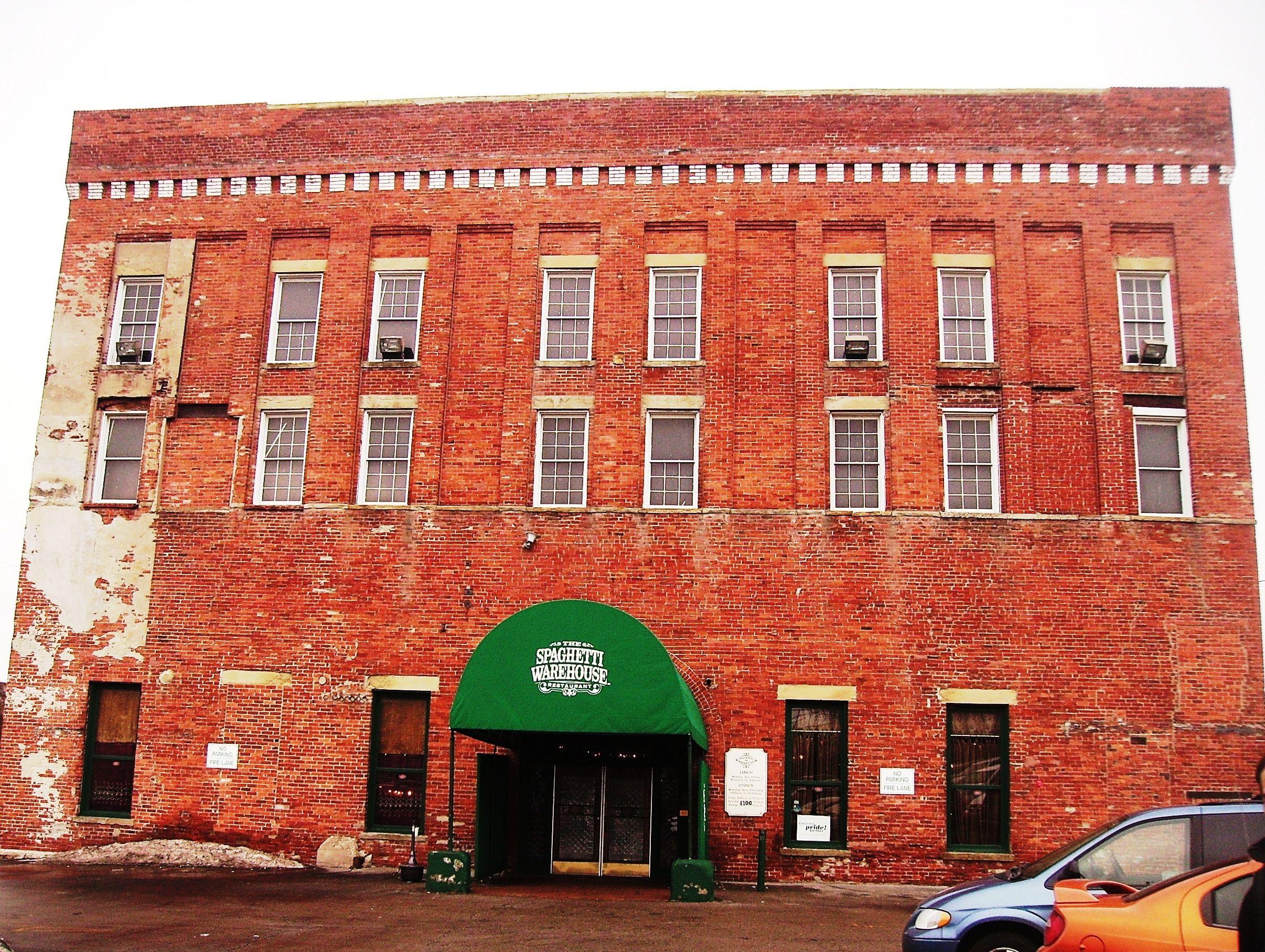 The Spaghetti Warehouse Columbus Oh Usa Classic Restaurant Ohio San Antonio Tx