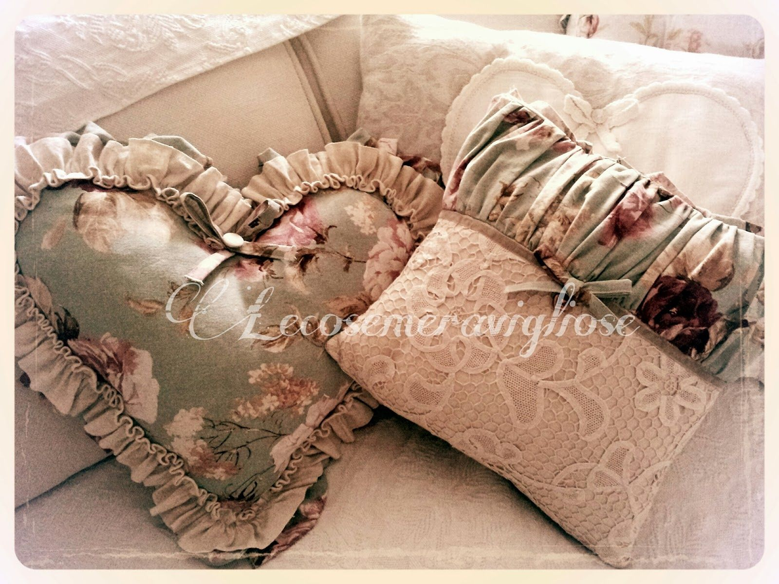 Tende Country Shabby : Lecosemeravigliose shabby e country chic passions tende cuscini