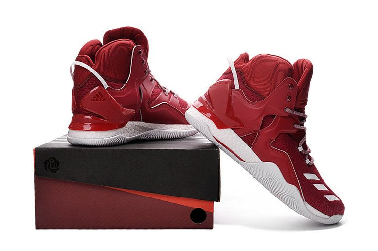 promo code 8299c 3e1a6 Free Shipping Only 69  adidas D Rose 7 VII Burgundy