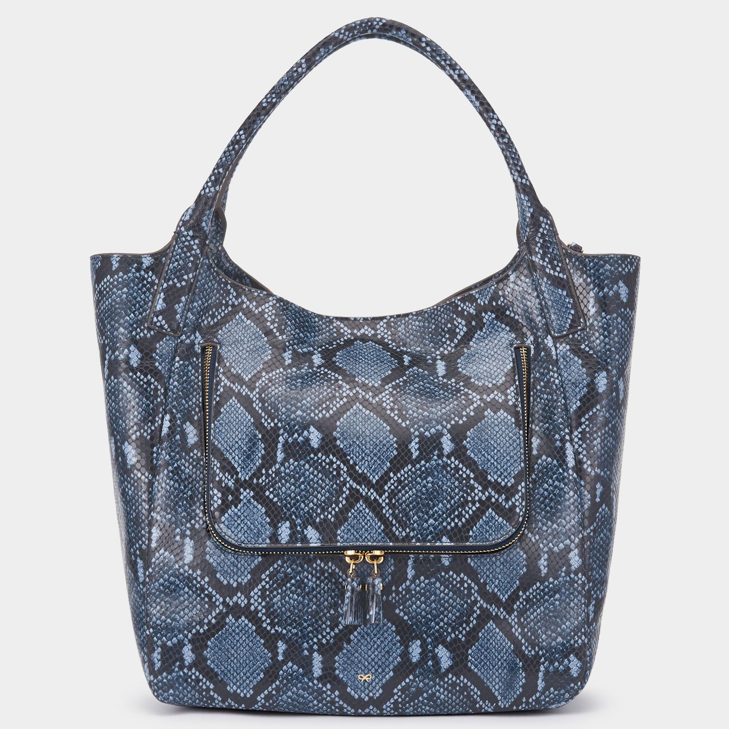 25b996a33ab3 Python Print Vere Shopper by Anya Hindmarch