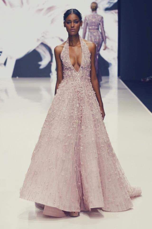 Muse Raquel Pinto for Michael Cinco Haute Couture