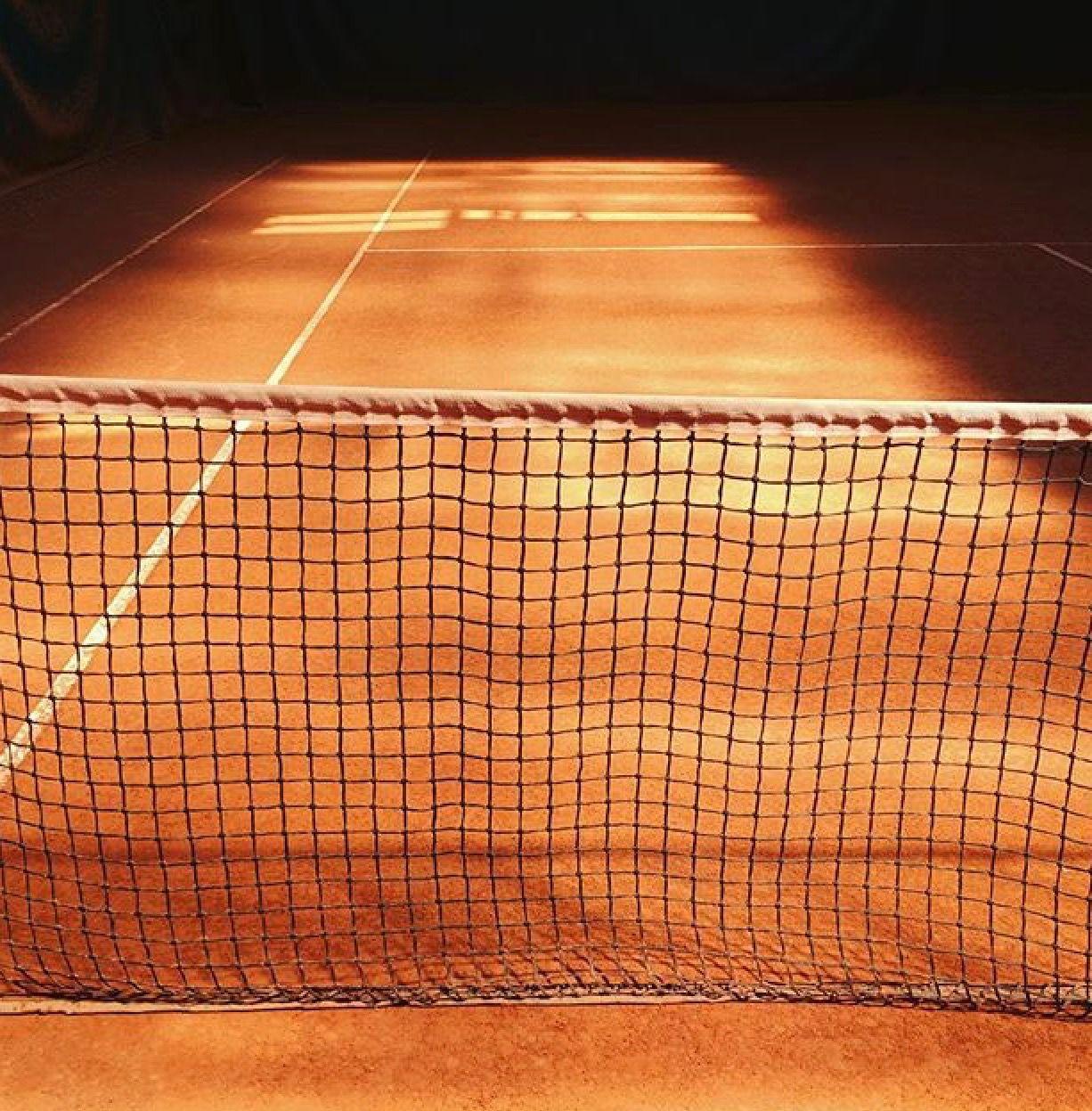 Clay Court Picture By Anne Deniau Orange Aesthetic Tennis Tennis Court