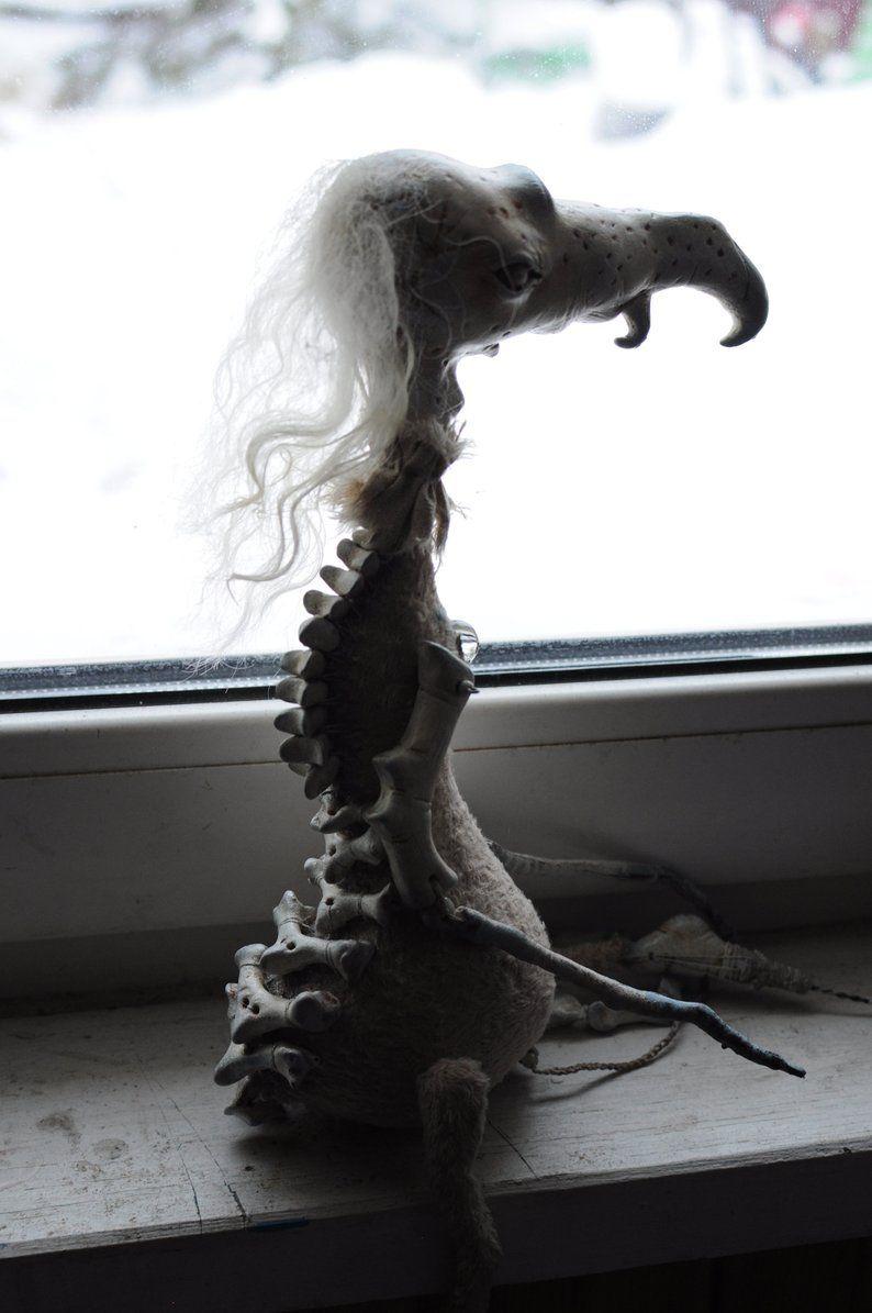 Skeleton Puppe Ratte Gruselig E Ton Skulptur Goth Horror Etsy Tonskulptur Gruselig Halloween Spielzeug