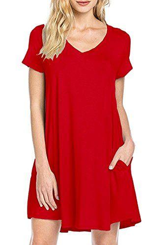 Zero City Damen A Linie Kleid Gr Medium Rot Fashion Women Plus