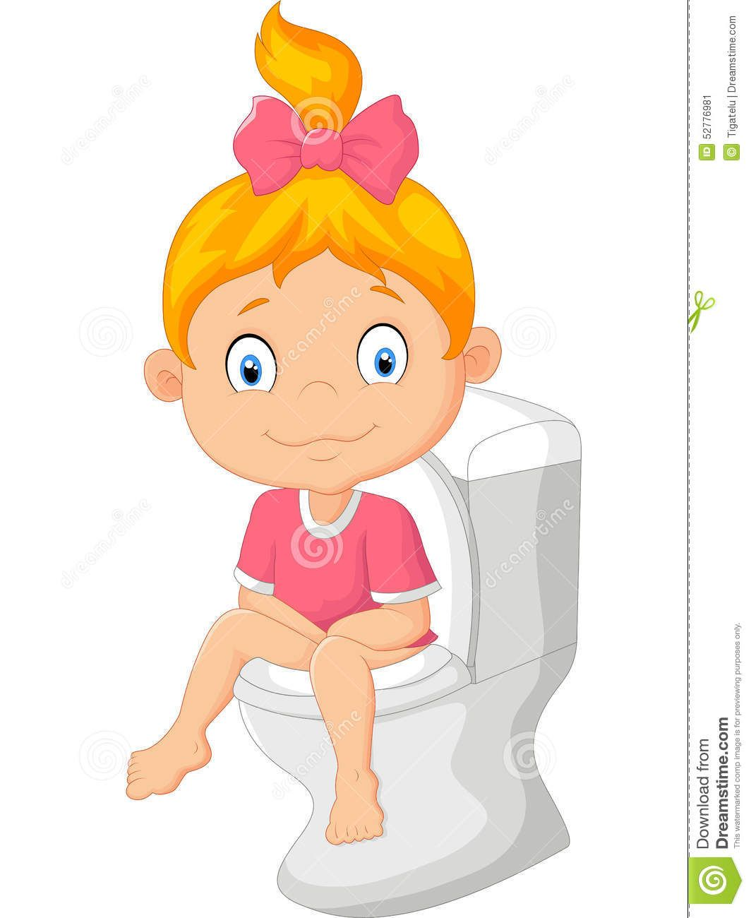 Image Result For Potty Girl Cartoon