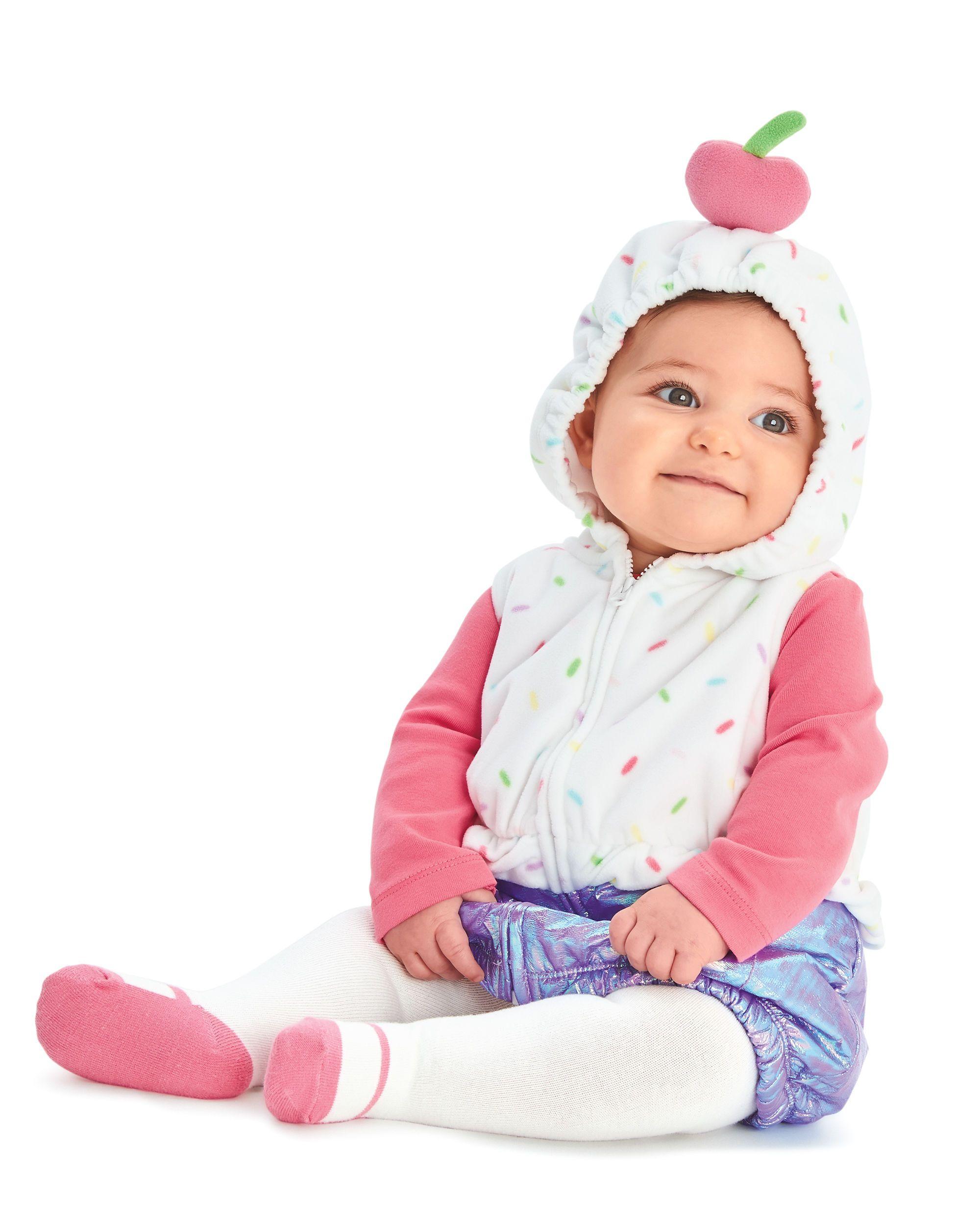 baby girl little cupcake halloween costume | carters | babies