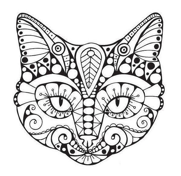 Kinderbilder fürs kinderzimmer katze  Ausmalbilder Katzen | Kočky | Pinterest | Ausmalbilder katzen ...