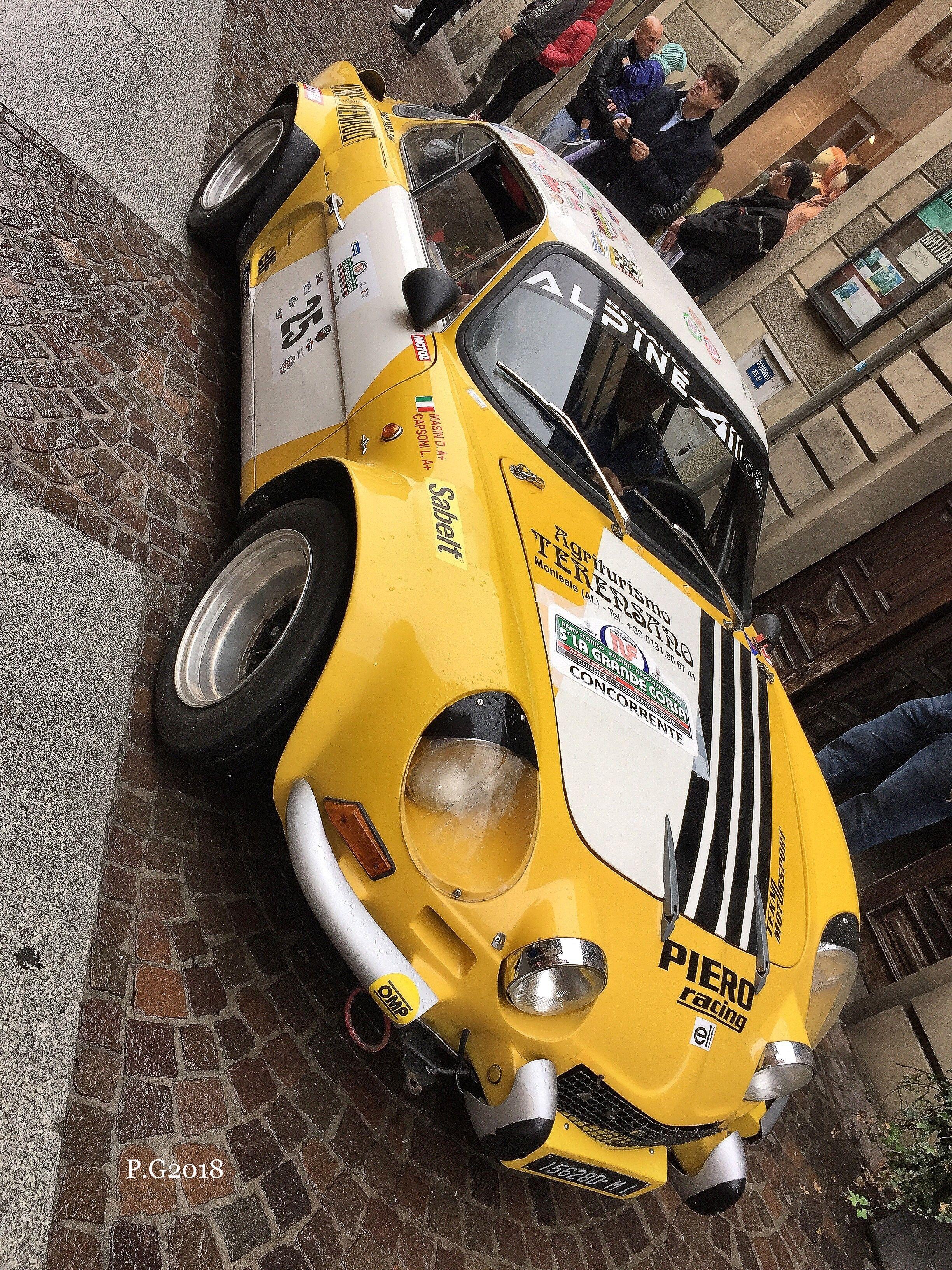 Renault Alpine A110 ラリーカー, カー, ラリー