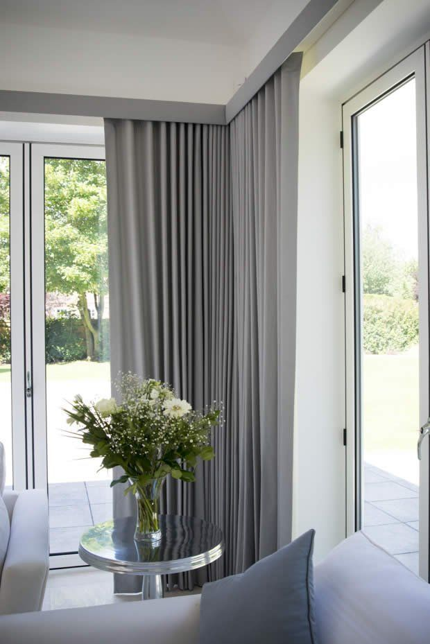 Stylish Curtains And Pelmet Hampton Style Scandinavian