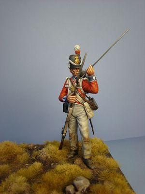 Hawk Miniatures presents a 75mm Fine Scale Resin Figure Kit