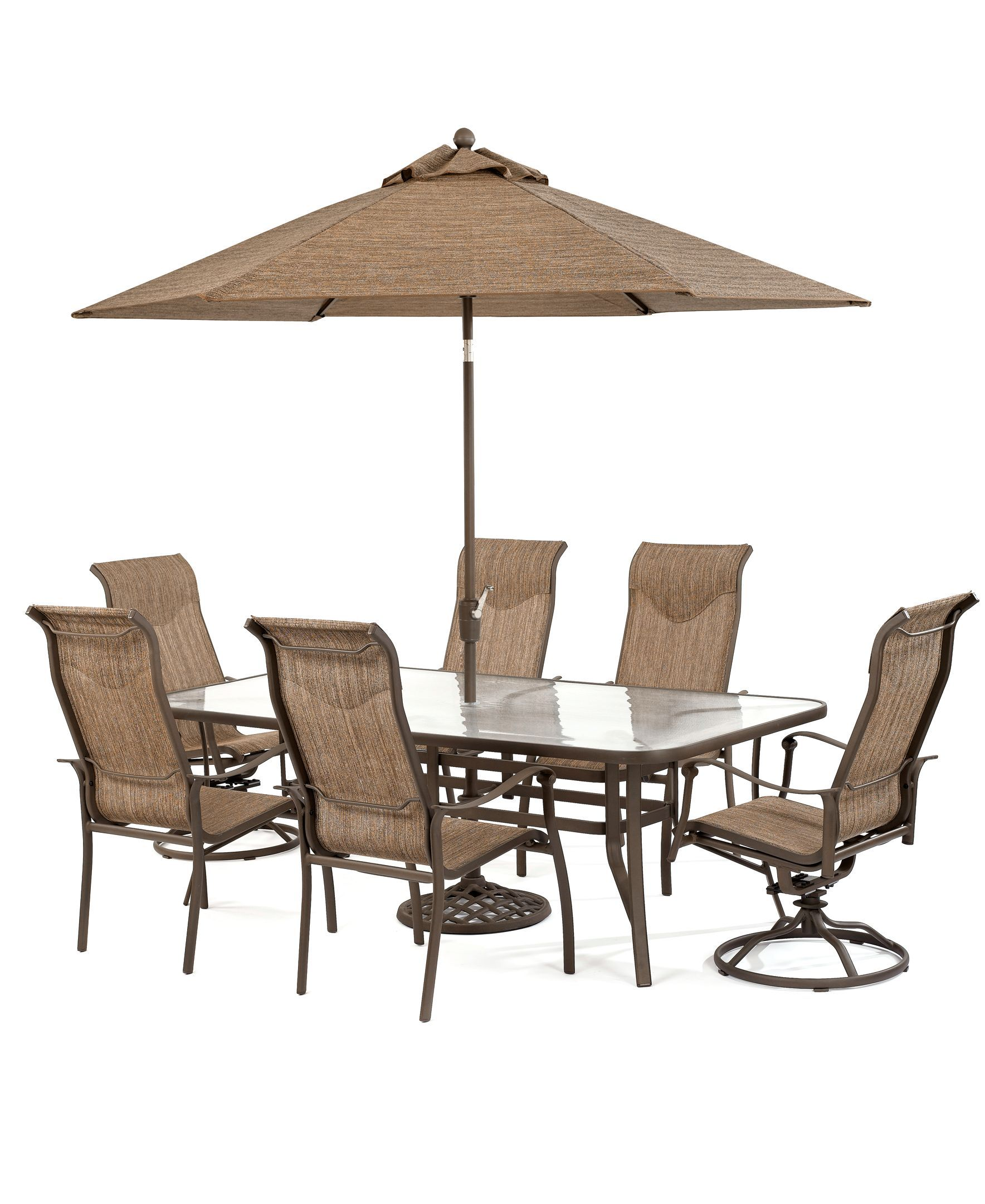 Oasis Outdoor 10 Piece Set 84 X 42 Dining Table 4 Dining